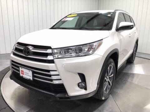 2019 Toyota Highlander for sale at HILAND TOYOTA in Moline IL