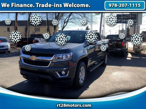 2016 Chevrolet Colorado for sale at RT28 Motors in North Reading MA