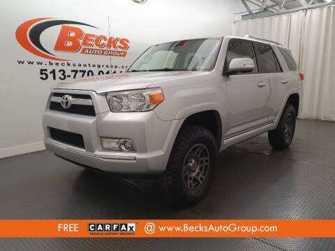 2013 Toyota 4Runner for sale at Becks Auto Group in Mason OH