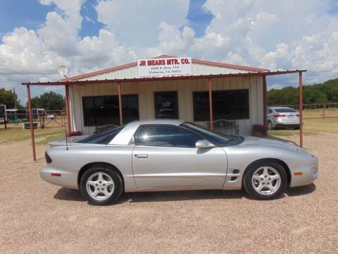 2000 Pontiac Firebird for sale at Jacky Mears Motor Co in Cleburne TX