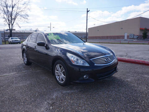 2012 Infiniti G25 Sedan for sale at BLUE RIBBON MOTORS in Baton Rouge LA