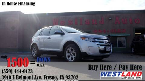 2014 Ford Edge for sale at Westland Auto Sales in Fresno CA
