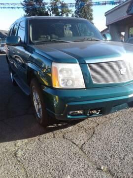 2003 Cadillac Escalade for sale at 2 Way Auto Sales in Spokane Valley WA