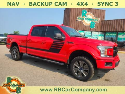 2018 Ford F-150 for sale at R & B Car Co in Warsaw IN