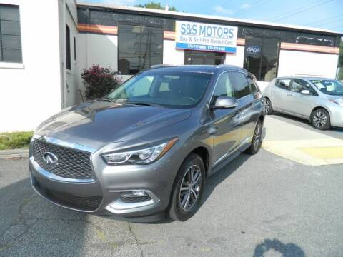 2016 Infiniti QX60 for sale at S & S Motors in Marietta GA