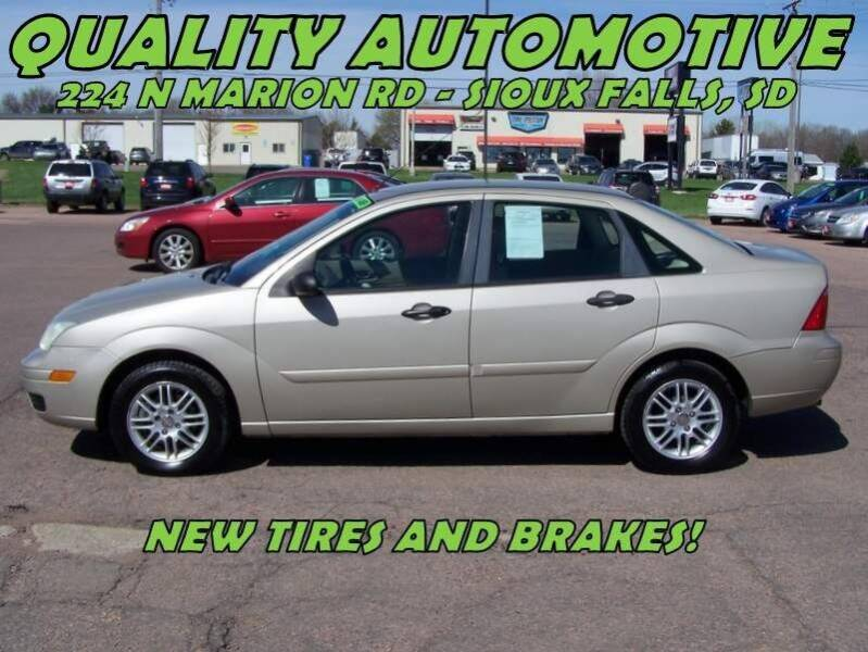 2007 Ford Focus for sale at Quality Automotive in Sioux Falls SD