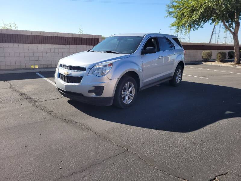 2015 Chevrolet Equinox for sale at Sooner Automotive Sales & Service LLC in Peoria AZ