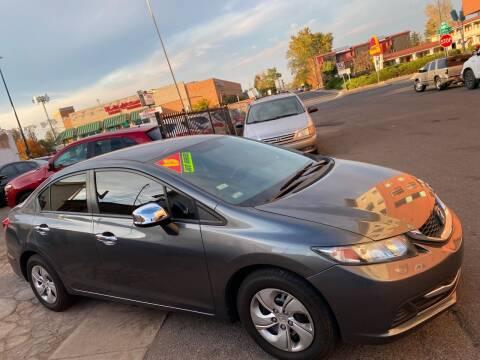 2013 Honda Civic for sale at Sanaa Auto Sales LLC in Denver CO