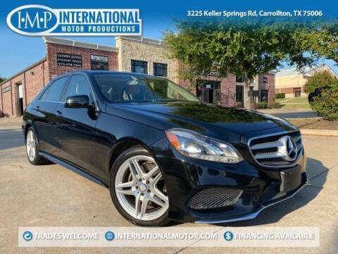 2014 Mercedes-Benz E-Class for sale at International Motor Productions in Carrollton TX