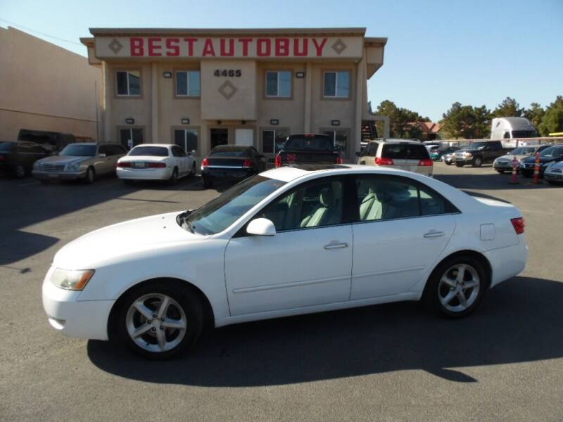 2007 Hyundai Sonata for sale at Best Auto Buy in Las Vegas NV