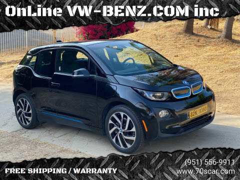 2016 BMW i3 for sale at OnLine VW-BENZ.COM Auto Group in Riverside CA