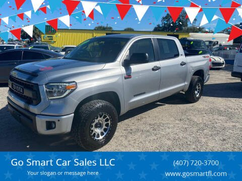 2017 Toyota Tundra for sale at Go Smart Car Sales LLC in Winter Garden FL