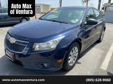 2011 Chevrolet Cruze for sale at Auto Max of Ventura in Ventura CA