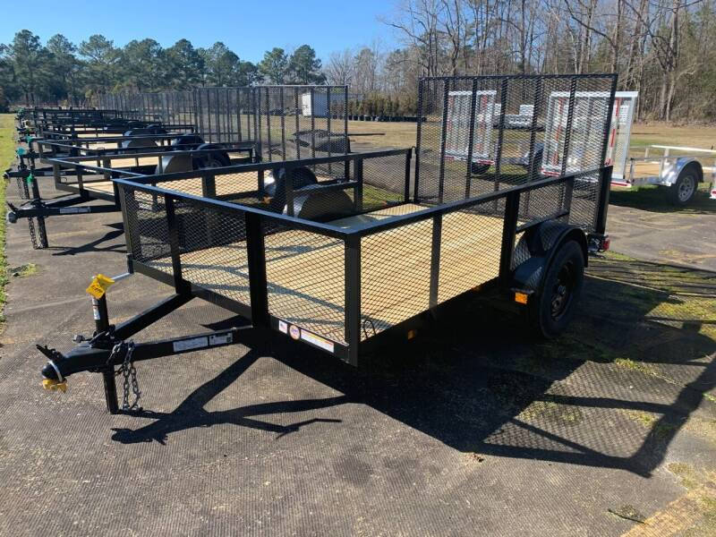 2021 New Triple Crown High-Side Utility Trailers for sale at Tripp Auto & Cycle Sales Inc in Grimesland NC