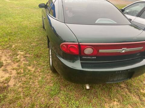2003 Chevrolet Cavalier for sale at Nash's Auto Sales Used Car Dealer in Milton FL