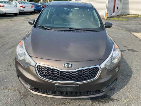 2014 Kia Forte for sale at Better Auto in South Darthmouth MA