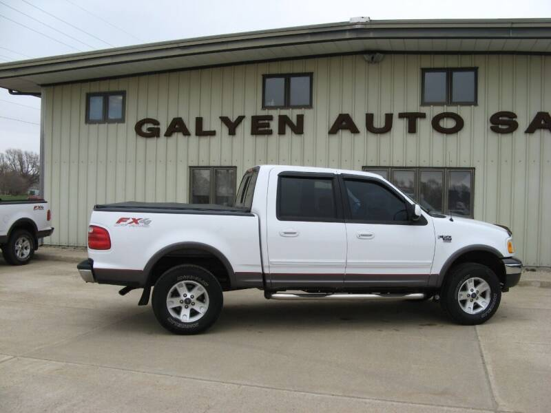 2002 Ford F-150 for sale at Galyen Auto Sales Inc. in Atkinson NE