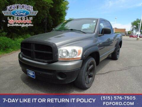 2006 Dodge Ram Pickup 1500 for sale at Fort Dodge Ford Lincoln Toyota in Fort Dodge IA