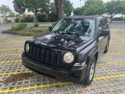2007 Jeep Patriot for sale at Florida Prestige Collection in Saint Petersburg FL