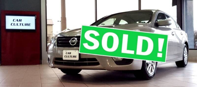 2013 Nissan Altima for sale at Car Culture in Warren OH