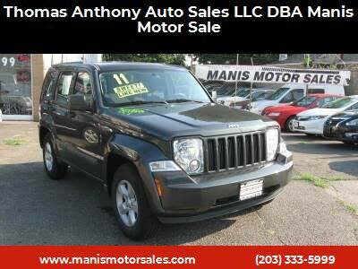 2011 Jeep Liberty for sale at Thomas Anthony Auto Sales LLC DBA Manis Motor Sale in Bridgeport CT