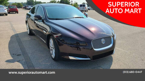 2012 Jaguar XF for sale at SUPERIOR AUTO MART in Amelia OH