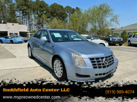 2013 Cadillac CTS for sale at Smithfield Auto Center LLC in Smithfield NC