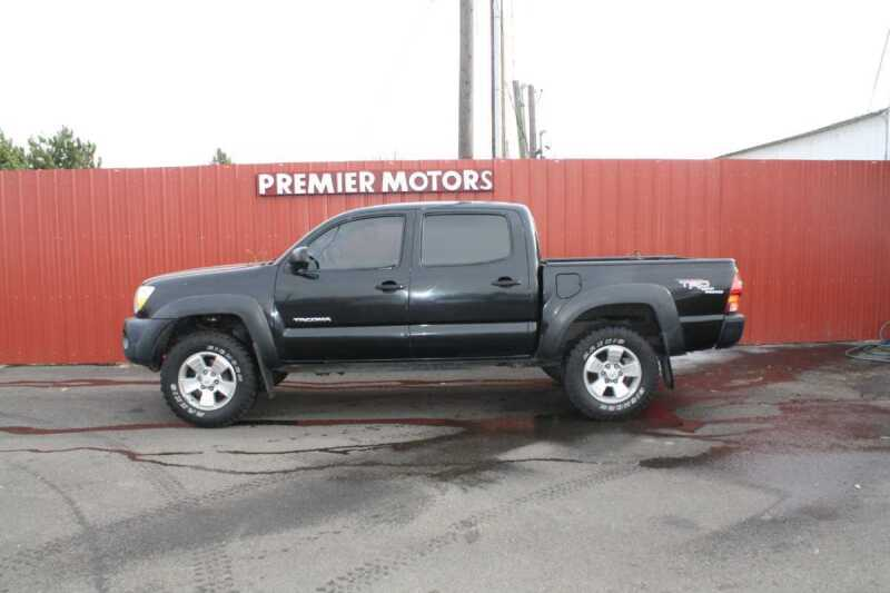 2007 Toyota Tacoma for sale at PREMIERMOTORS  INC. in Milton Freewater OR