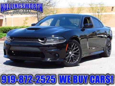 2019 Dodge Charger for sale at Hollingsworth Auto Sales in Raleigh NC