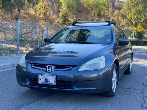 2004 Honda Accord for sale at ZaZa Motors in San Leandro CA