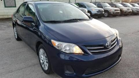 2013 Toyota Corolla for sale at Ace Automotive in Houston TX