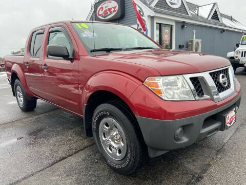 2014 Nissan Frontier for sale at Cape Cod Carz in Hyannis MA