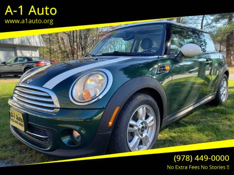 2012 MINI Cooper Hardtop for sale at A-1 Auto in Pepperell MA
