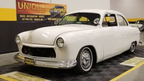 1951 Ford Coupe for sale at UNIQUE SPECIALTY & CLASSICS in Mankato MN
