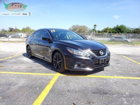 2017 Nissan Altima for sale at GATOR'S IMPORT SUPERSTORE in Melbourne FL