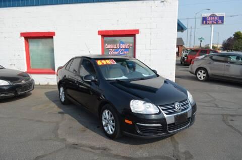 2010 Volkswagen Jetta for sale at CARGILL U DRIVE USED CARS in Twin Falls ID