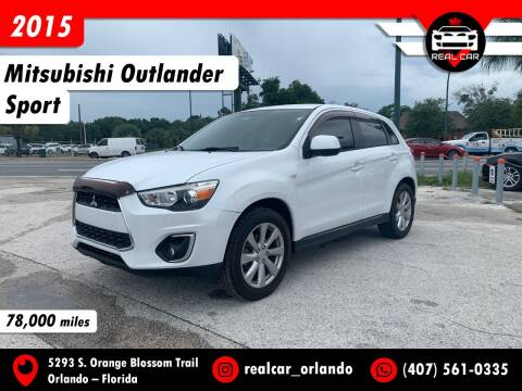 2015 Mitsubishi Outlander Sport for sale at Real Car Sales in Orlando FL