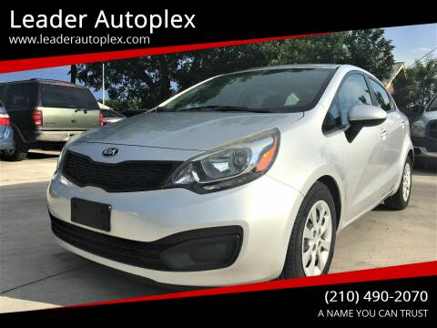 2014 Kia Rio for sale at Leader Autoplex in San Antonio TX