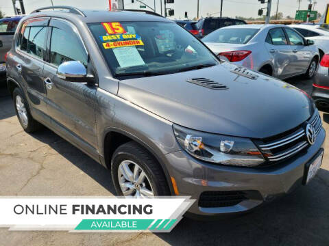 2015 Volkswagen Tiguan for sale at Super Cars Sales Inc #1 - Super Auto Sales Inc #2 in Modesto CA