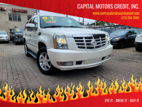 2007 Cadillac Escalade for sale at Capital Motors Credit, Inc. in Chicago IL