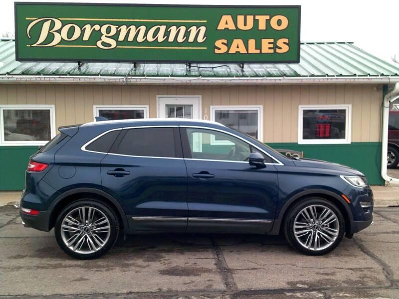 2015 Lincoln MKC for sale at Borgmann Auto Sales in Norfolk NE