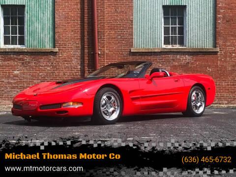 2001 Chevrolet Corvette for sale at Michael Thomas Motor Co in Saint Charles MO