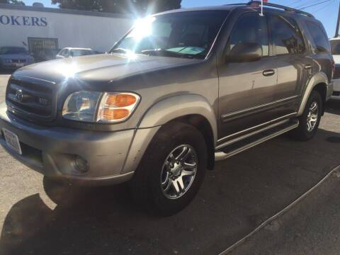 2004 Toyota Sequoia for sale at Oxnard Auto Brokers in Oxnard CA