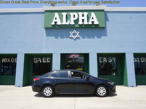 2020 Toyota Corolla for sale at ALPHA AUTOMOBILE SALES, LLC in Lafayette LA