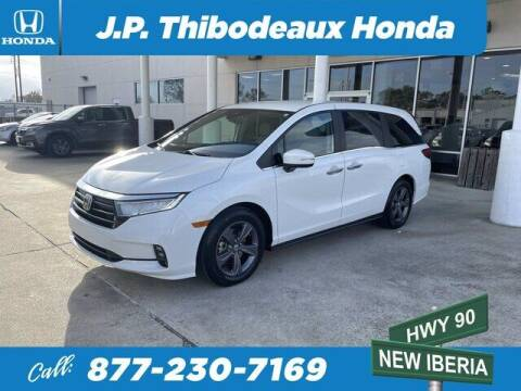 2021 Honda Odyssey for sale at J P Thibodeaux Used Cars in New Iberia LA