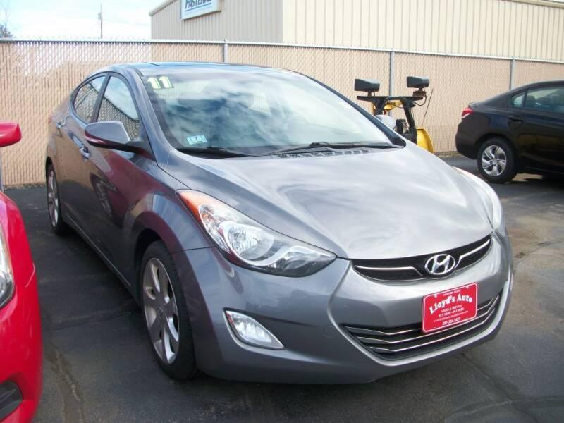 2011 Hyundai Elantra for sale at Lloyds Auto Sales & SVC in Sanford ME