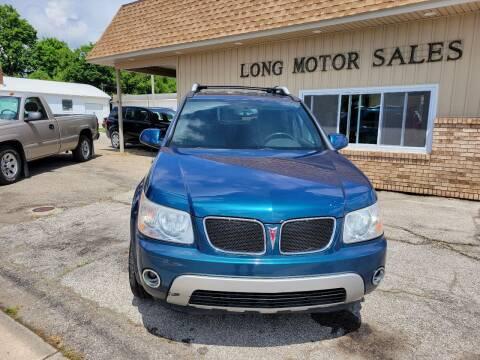 2006 Pontiac Torrent for sale at Long Motor Sales in Tecumseh MI
