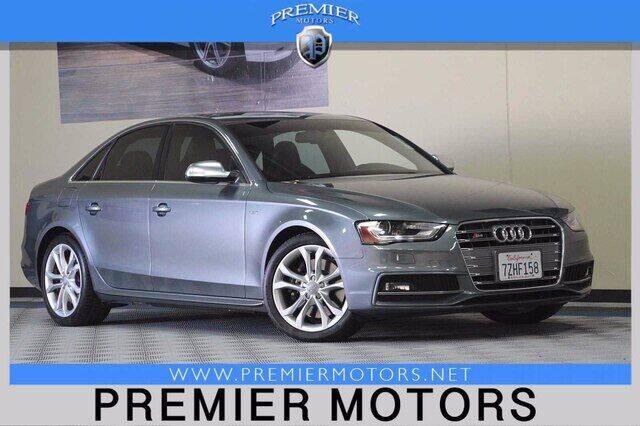 2014 Audi S4 for sale at Premier Motors in Hayward CA