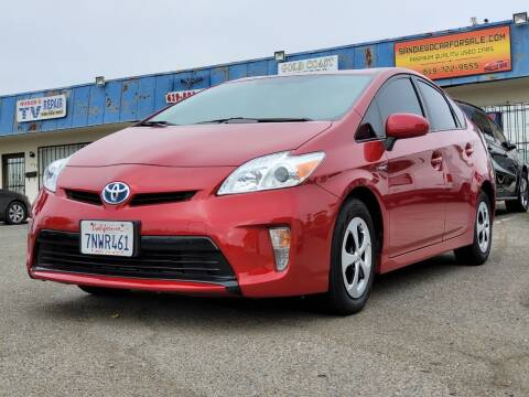 2015 Toyota Prius for sale at Gold Coast Motors in Lemon Grove CA