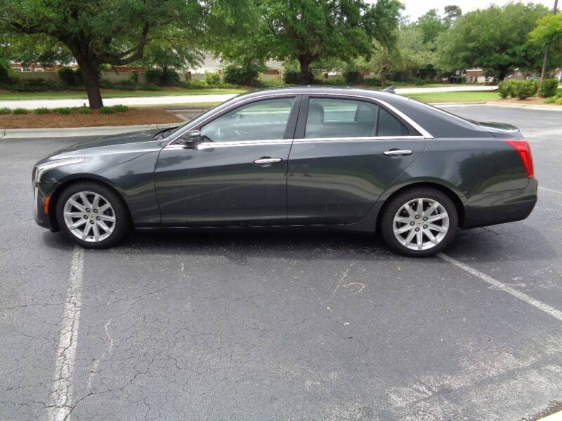 2014 Cadillac CTS for sale at BALKCUM AUTO INC in Wilmington NC